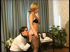 Milf Catches Boy with Panties []