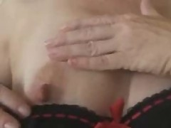 Brit MILF Fingers One Out []