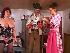 Mature slave gets fisted []