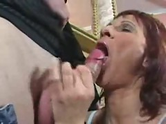 Horny Milf Gets Fucked And Facialled ! []