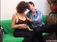 Russian Mature with a real hairy cunt []