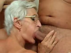 Silver 80 Year Old Gran Loves Cock N Cum ! []