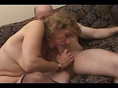 Milf in Stockings Treats Baldy []