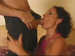 This lady just loves anal fuck, with husband watching [31:21]