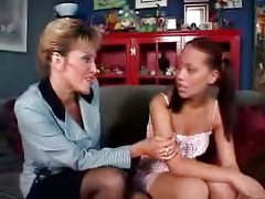 Mature and swarthy teen lesbian sex [18:43]