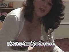 Mature wife with big pussy lips doing solo video for hubby [7:7 min.]