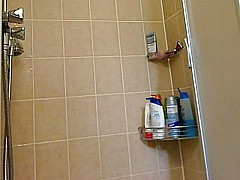My stepmother in the shower [2:13 min.]