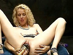 Mature blondes huge toys [10:7 min.]