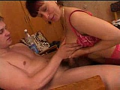 Mature amalia in gang bang with 3 boys [19:53 min.]