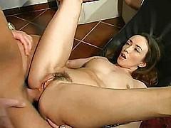 Italian hot milf take cazzo in her large asshole anal troia  [7:11 min.]