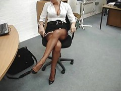 Nylon teasing ff - stockings [1:40 min.]
