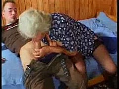 Busty german granny fucks young guy [23:17 min.]
