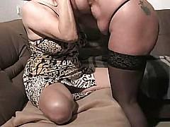 Lesbian grandmas lesbian scene [13:46 min.]