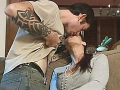 Sexy stepmom seduced her stepson. [24:19 min.]