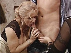 German classic mature lesbians and the young boy - snake [46:46 min.]
