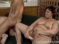 2 dirty older ladies fucking guy and masterbating [22:15 min.]