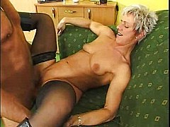 German classic kinky mature woman casting - snake [21:36 min.]