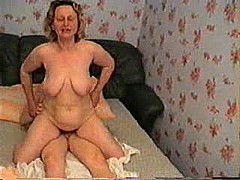 Russian granny wants sex from grandson [15:30 min.]