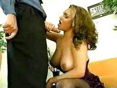 Busty milf fucked by hard dick [22:52]