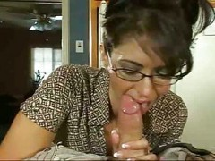 Sweet blowjob and hard sex with petite milf [23:14]